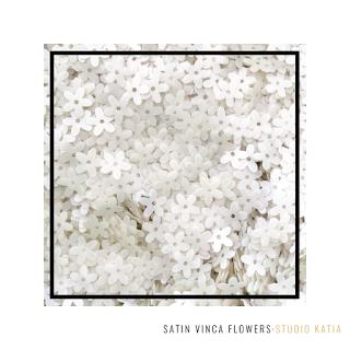 Satin Vinca Flowers