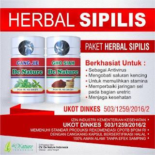 Obat Penyakit Sipilis Herbal Resep Dokter pada Pria