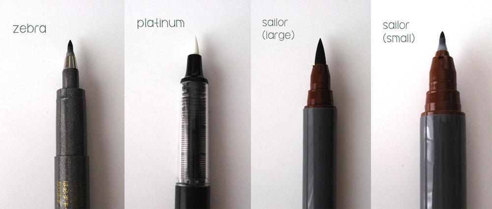 Twotenseven Daiso Brush Pen Review