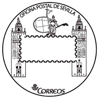 Matasellos turístico de la Oficina Postal de Sevilla - 2016