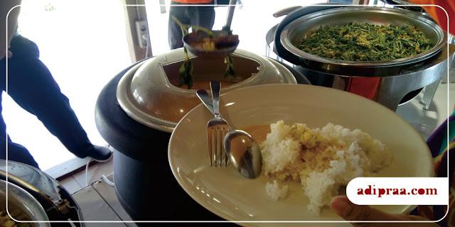 Sajian Sayur Kalakan di Kampoeng Nelayan Resto | adipraa.com
