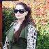 Bluzka w panterkę i błyszczące legginsy w jesiennej stylizacji z ZOiO