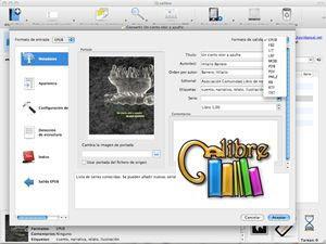 Download Caliber to organize e-books