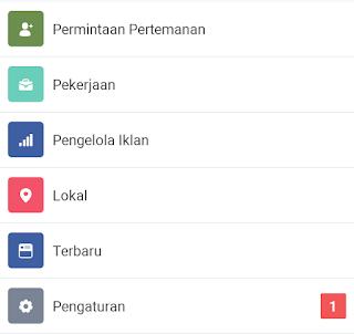 pilih pengaturan facebook