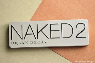 Review: Urban Decay - der Klassiker - NAKED 2 Lidschatten Palette - www.annitschkasblog.de