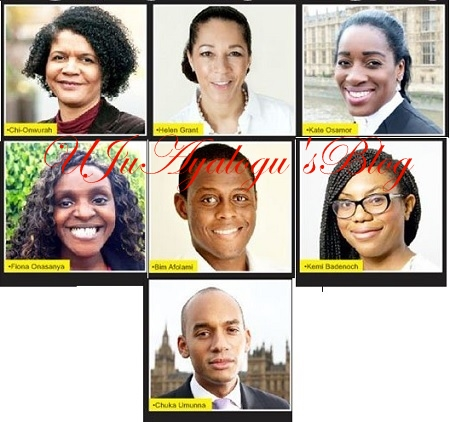UK Parliamentary Election: 7 Nigerians ELECTED ...See List