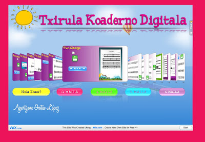 txirula koaderno digitala