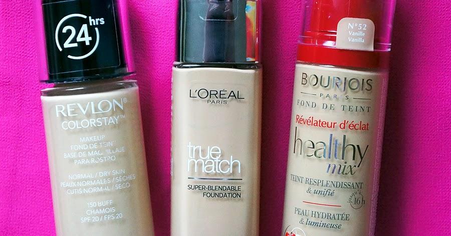 Fresja Bourjois Healthy Mix Revlon Colorstay Loreal
