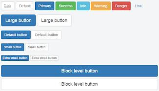Penulisan Bootstrap Button Di Dalam Postingan