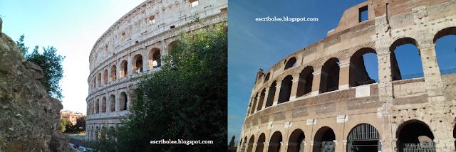 Viaje a Roma: coliseo