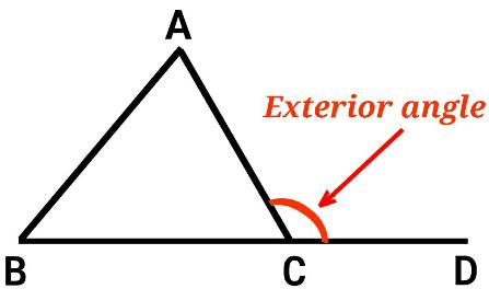 Remote interior angle of triangle theorem proof maths - Triangle exterior angle theorem proof ...