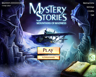 Mystery Stories  Mountains of Madness, Games
