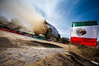 Echipa Hyundai Motorsport concureaza in Raliul Mexicului
