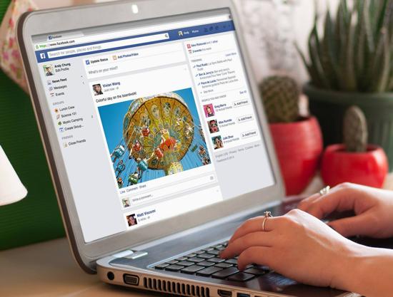 Facebook timeline 2014