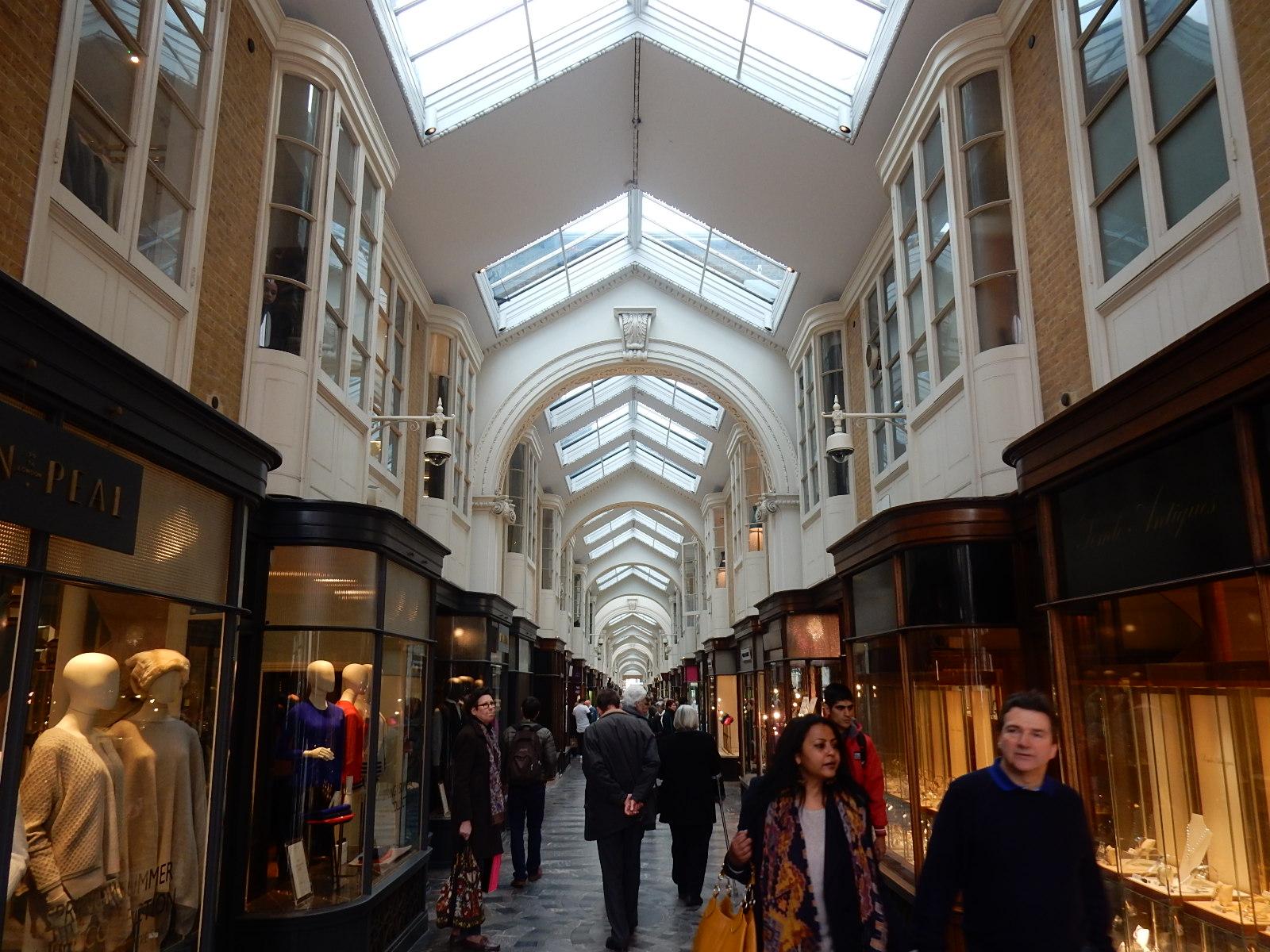 Miss o londres burlington arcade a mais antiga galeria - Galeria comercial ...