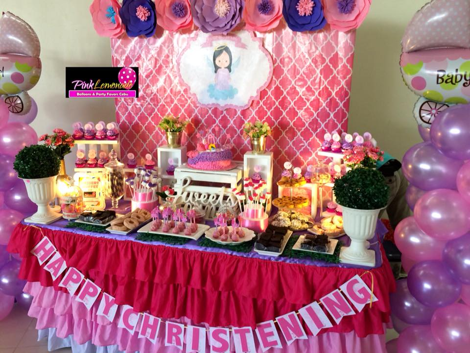 Pink Lemonade Balloons And Party Favors Cebu Baby Eden S