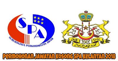Permohonan Jawatan Kosong SPA Kelantan 2018