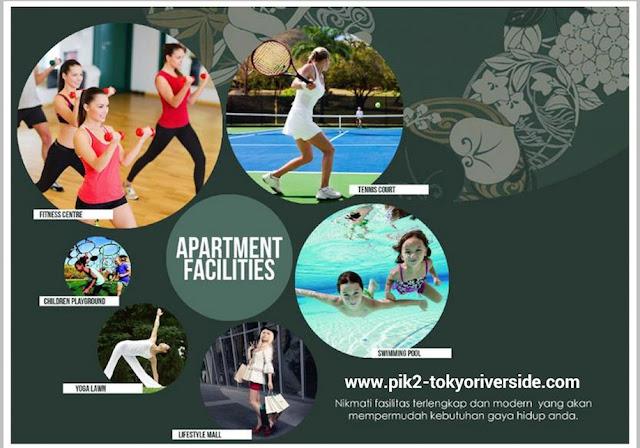 Apartemen Tokyo Riverside Facilities