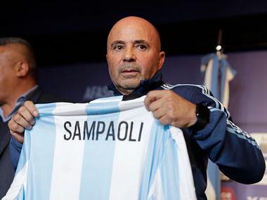 Pelatih Timnas Argentina, Jorge Sampaoli