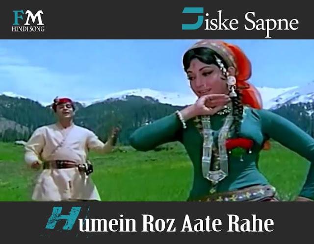 Jiske-Sapne-Humein-Roz-Aate-Rahe-Geet-(1970)