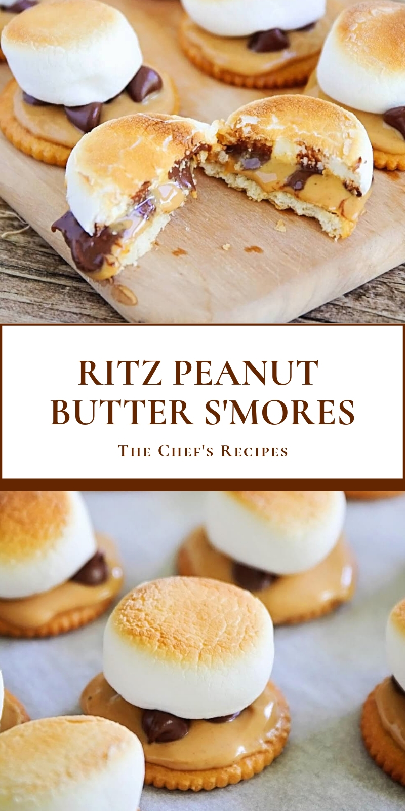 RITZ PEANUT BUTTER S'MORES