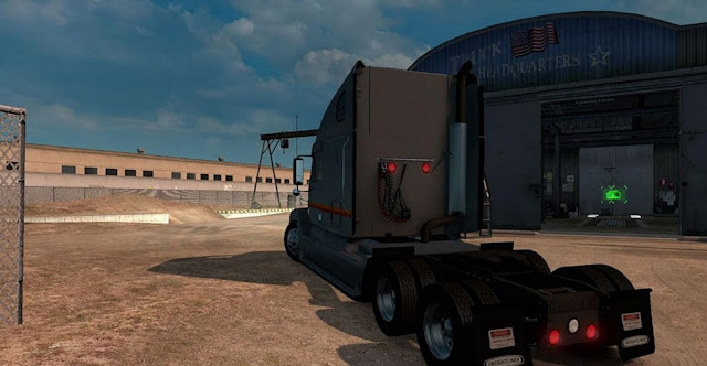 American Truck Simulator Freightliner Century Truck Download MODs