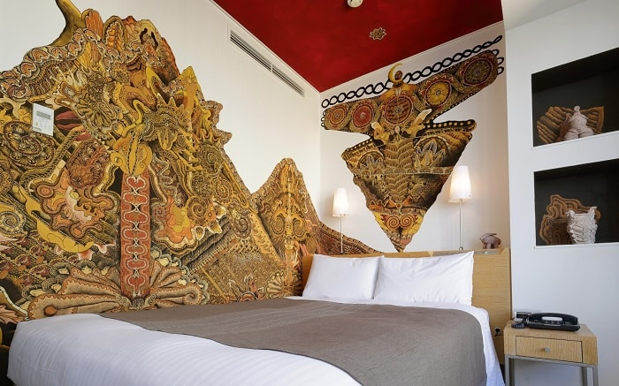 No. 28 – Park Hotel Tokyo Artist Room Jomon designed by Daisuke Kagawa