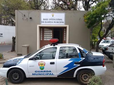 Guarda Municipal inaugura base de policiamento no Parque da Redenção, em Porto Alegre (RS)