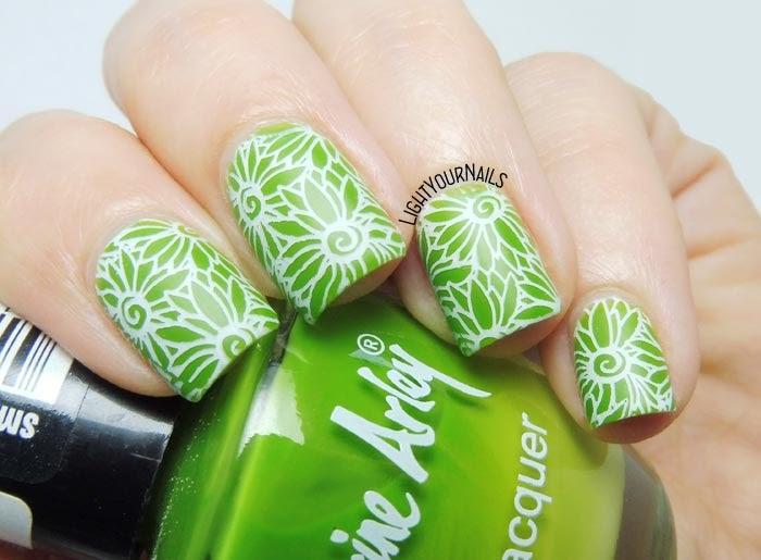 BeautyBigBang 10 stamping plate nail art #nails #nailart #stamping #lightyournails