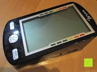oben: smartLAB profi-I Oberarm Blutdruckmessgerät. Sie erhalten das Baugleiche smartLABprofi+ anstelle. Hinweise bitte lesen