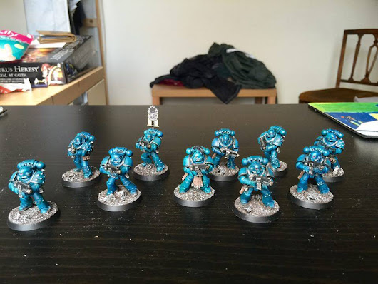First Veteran Tactical Squad Finished!