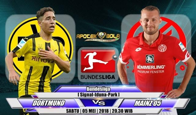 Prediksi Borussia Dortmund vs Mainz 05 5 Mei 2018