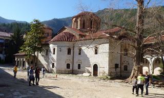 Monasterio de Bachkovo. Iglesia de la Asunción de Nuestra Señora.