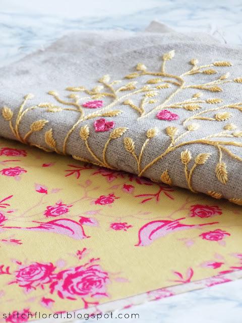 Boho textile bag