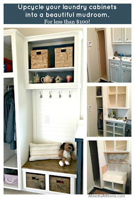 laundry cabinets mudroom