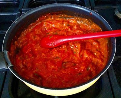 "alt=""sauce tomate au chorizo"""