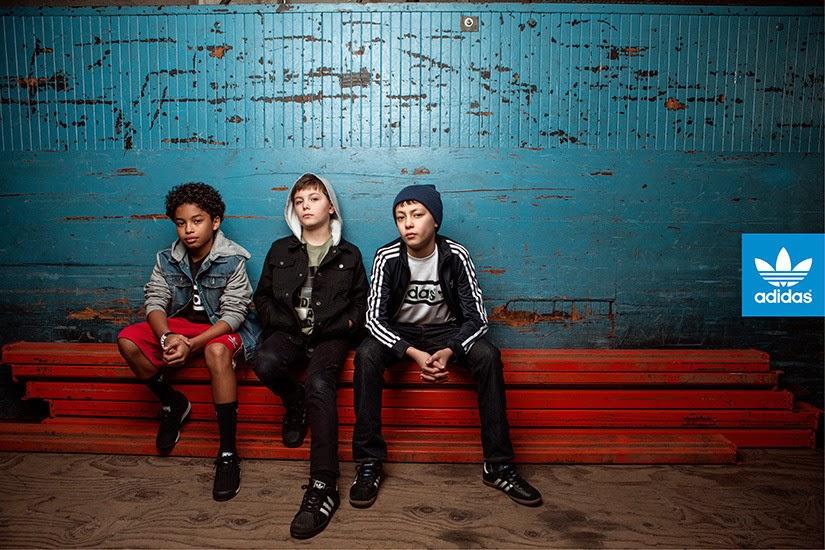 Corte Enemistarse Inminente  The Essentialist - Fashion Advertising Updated Daily: Adidas Originals Kids  All Originals Advertising Campaign Spring/Summer 2014