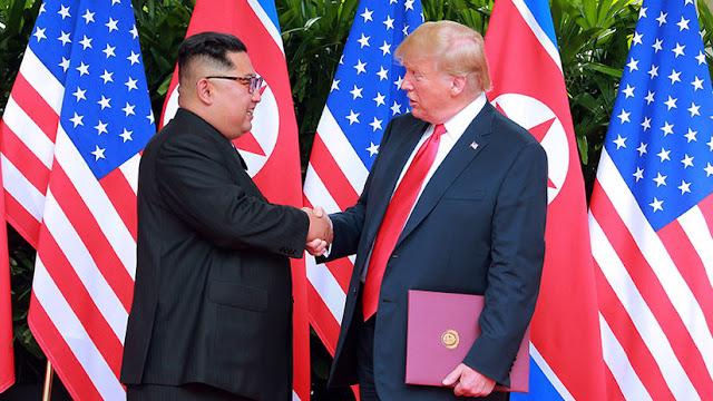 Kim Jong-un anuncia que su país y EE.UU. han acordado renunciar a las acciones militares hostiles