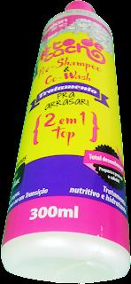 Preço owash e Pre Shampoo 2 em 1 Top To de cacho da Salon Line (Tratamento pra arrasar)