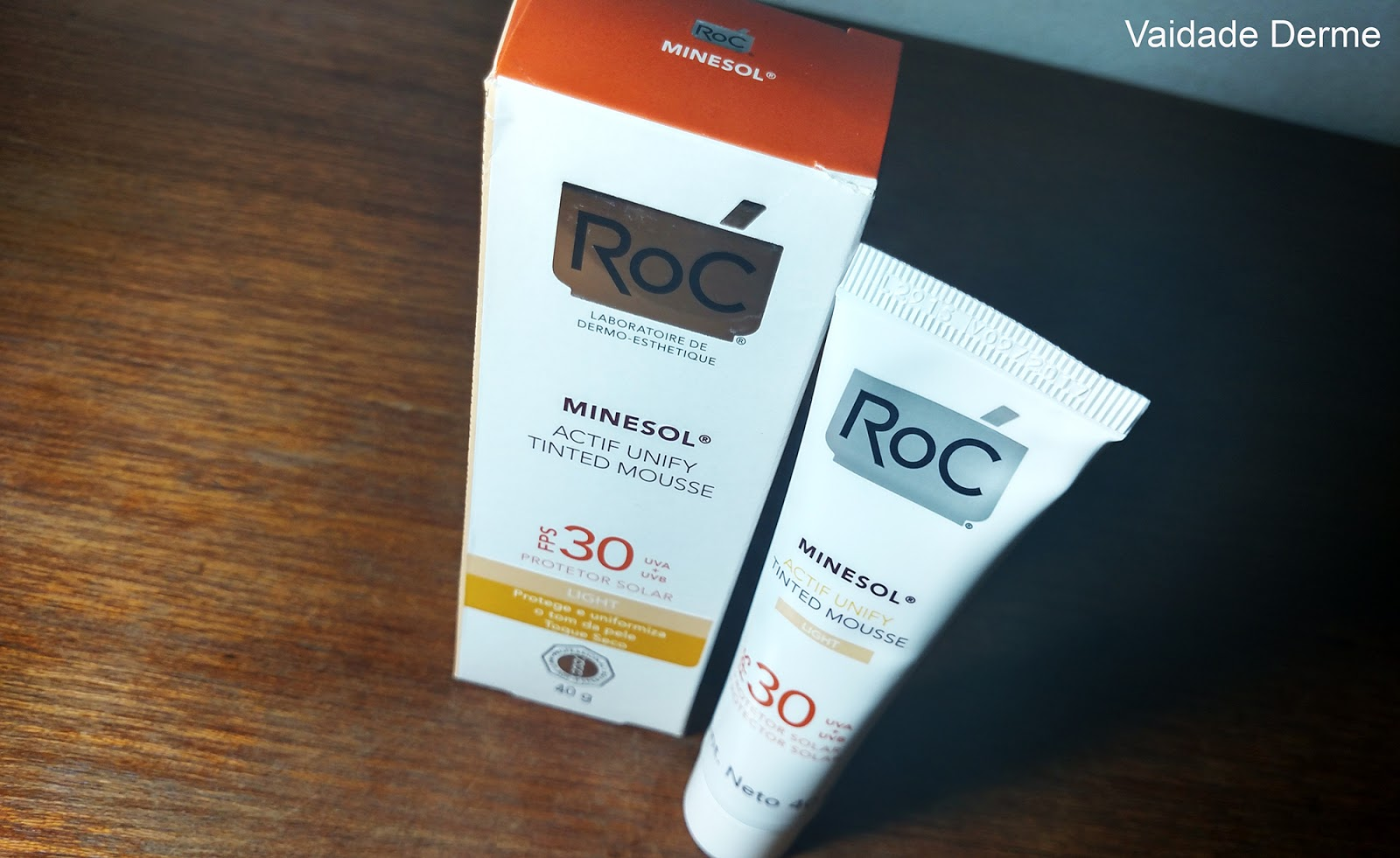 Roc Minesol Actif Unify Tinted Mousse FPS 30