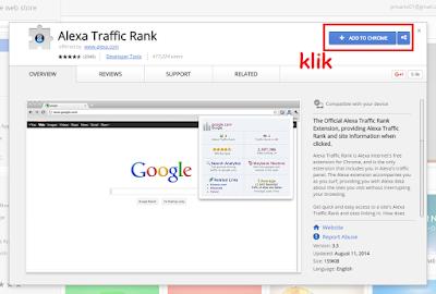 Cara Mudah Memasang Alexa Toolbar di Google Chrome