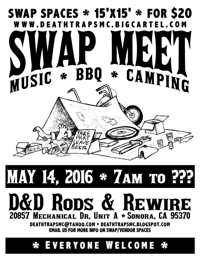 swap meet california 2016
