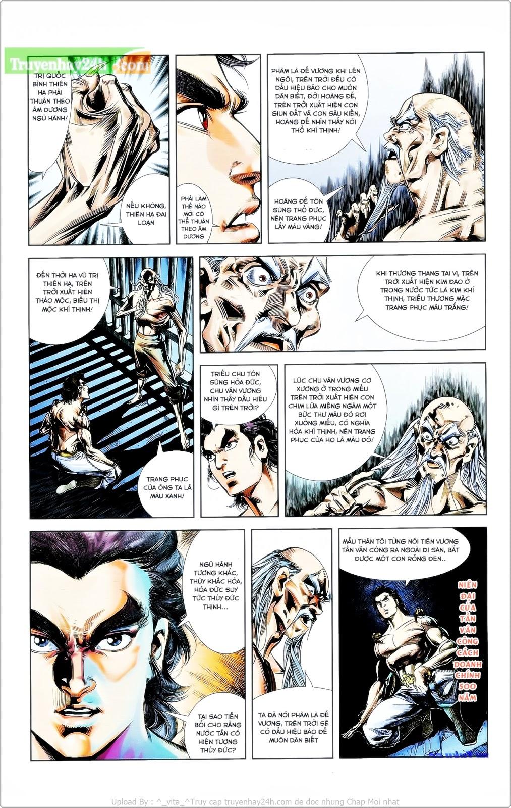 Tần Vương Doanh Chính chapter 25 trang 12