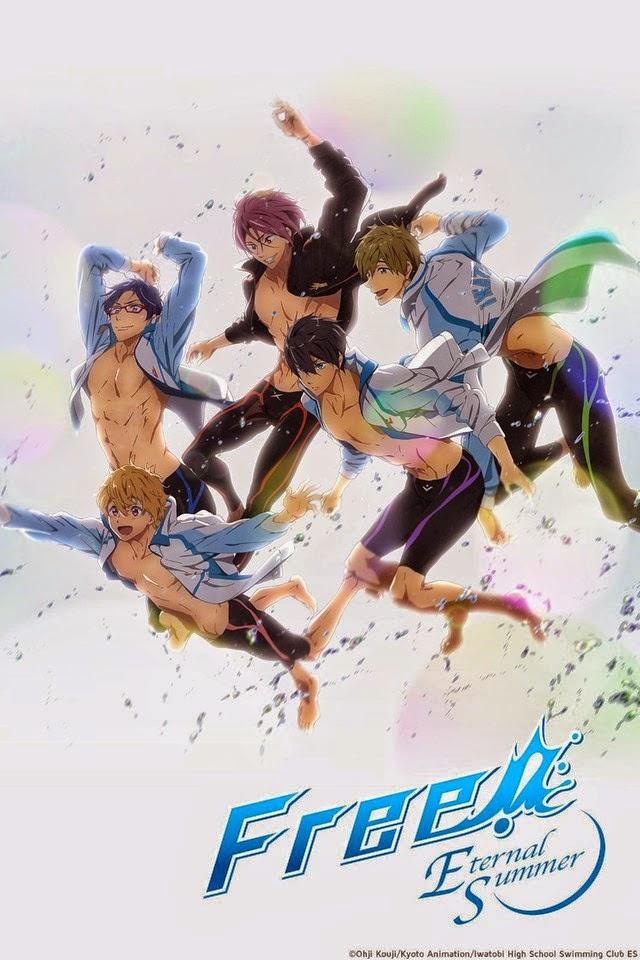 cover anime Free! - Eternal Summer
