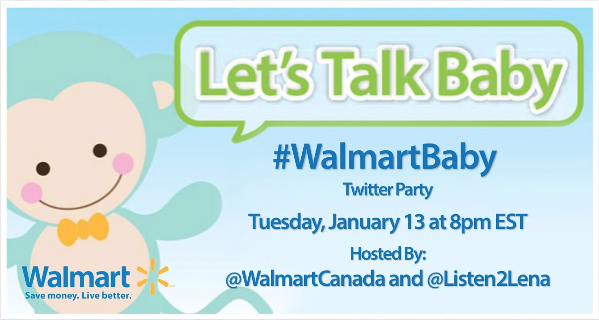#WalmartBaby Twitter Party