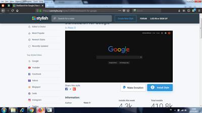 Cara Membuat dan Mengganti Tema Mozilla Firefox