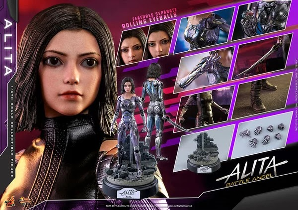 Preview Action Figure Battle Angel Alita
