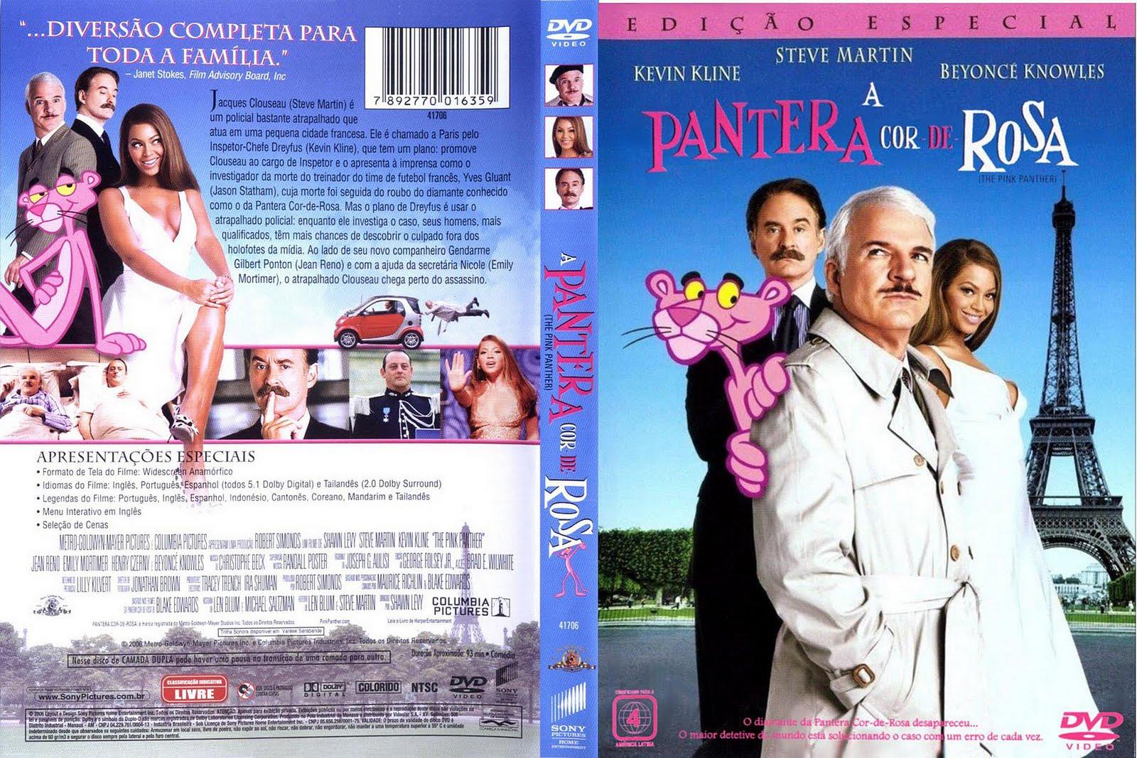 Capas De Filme De Comedia A Pantera Cor De Rosa 1