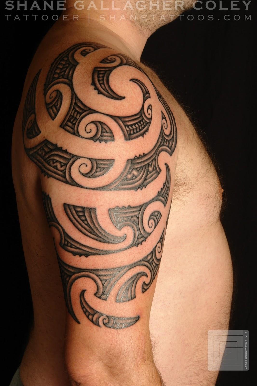 Maori Moko Tattoos: SHANE TATTOOS: Maori Half Sleeve Ta Moko/ Tattoo