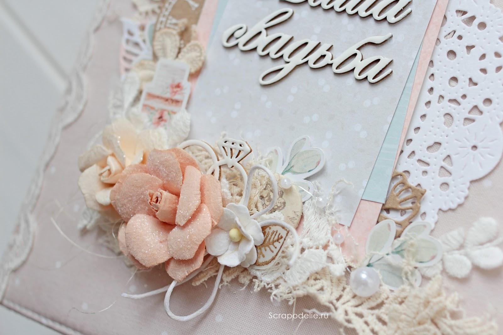 Свадебный альбом Наша Свадьба обложка фото 3